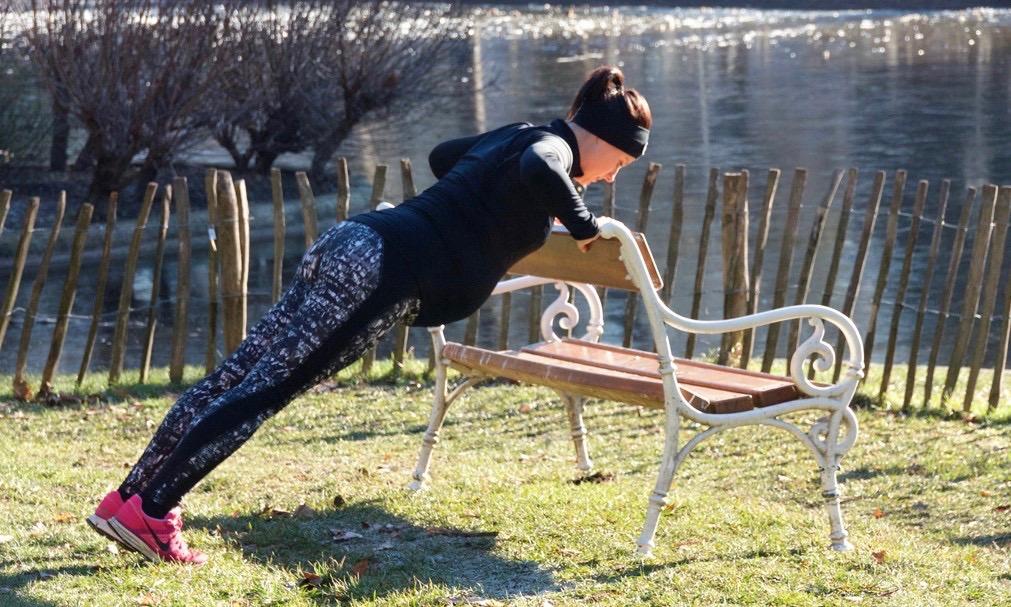 schwanger sportlich fit